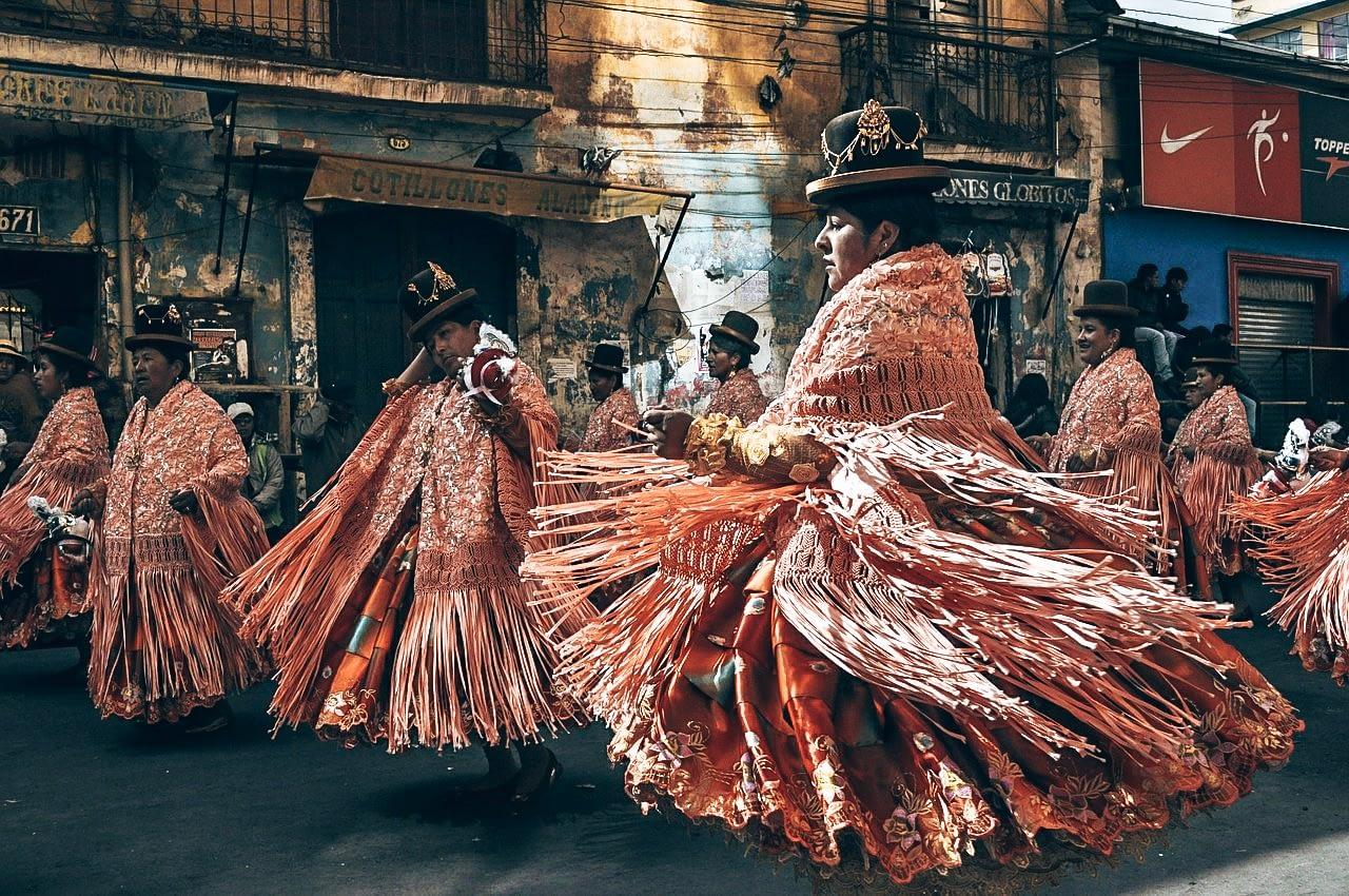 Bolivian Cholita Women