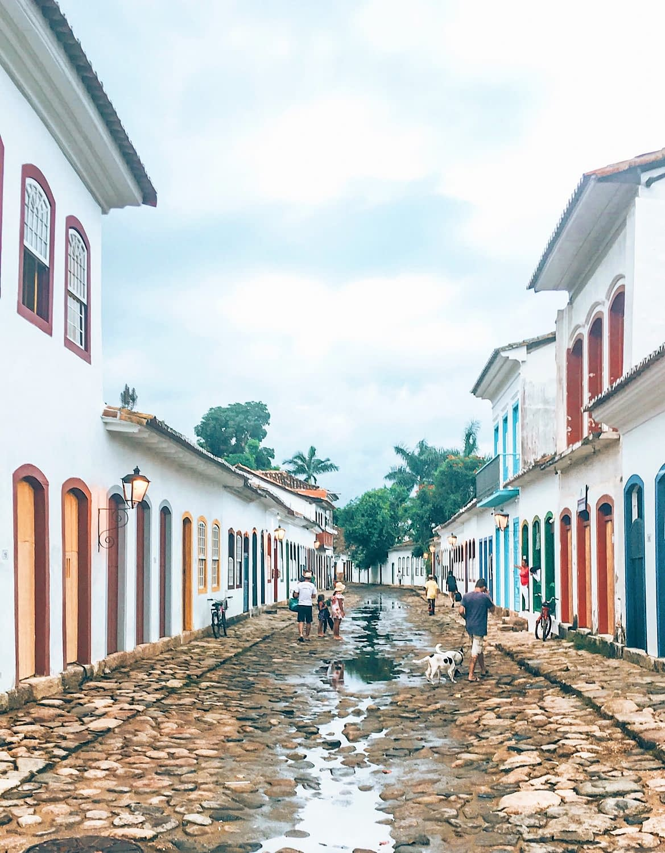 Colonial Town Paraty Brazil