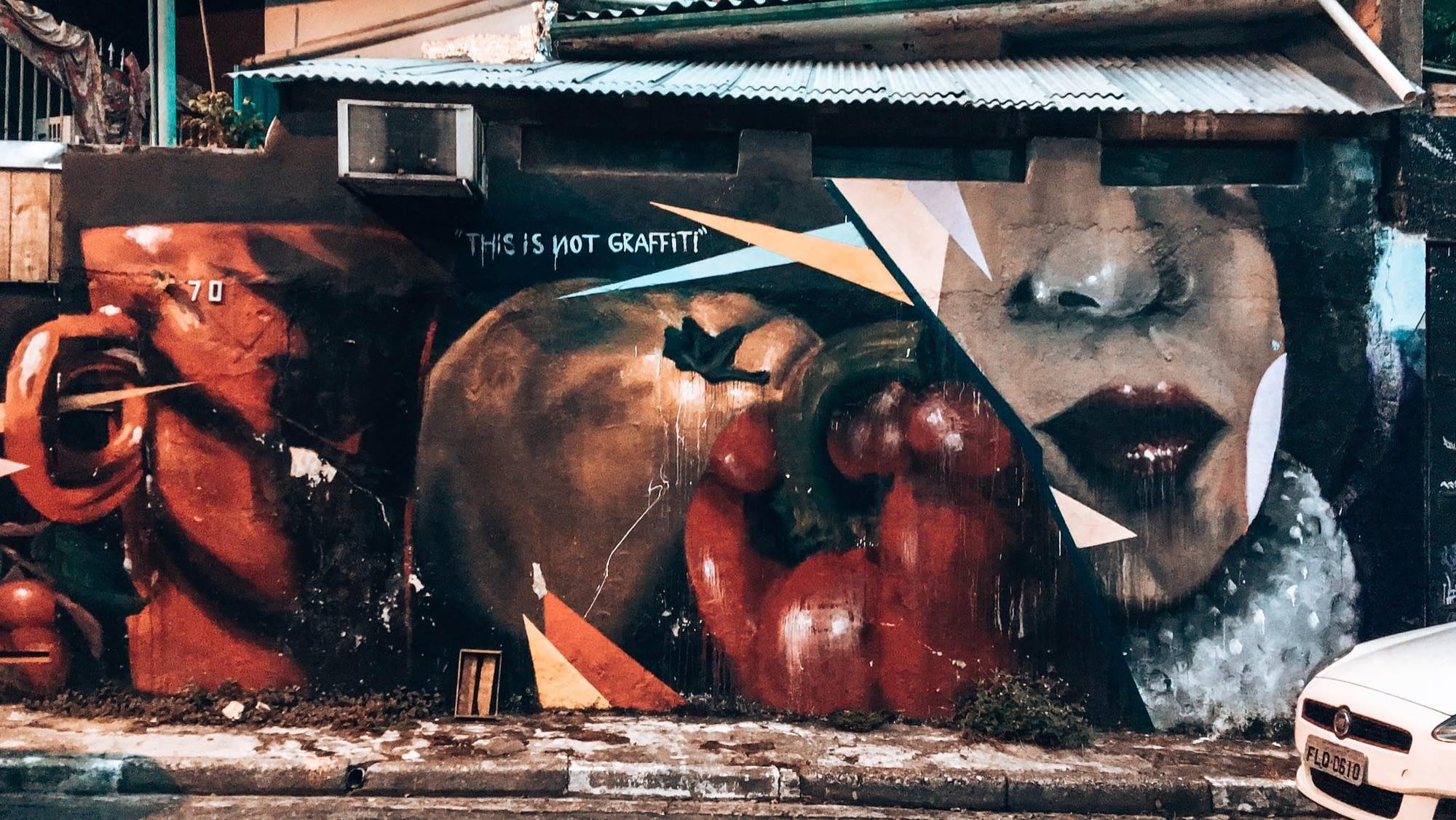 Vila Madelana Graffiti