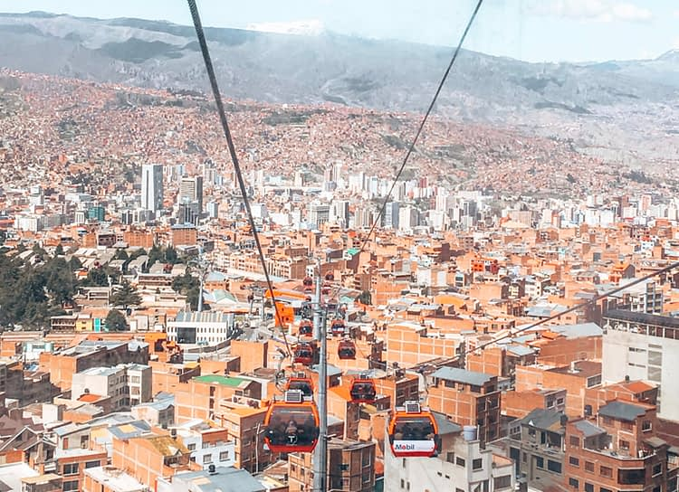 El Alto Cable Car - Things to do in La Paz