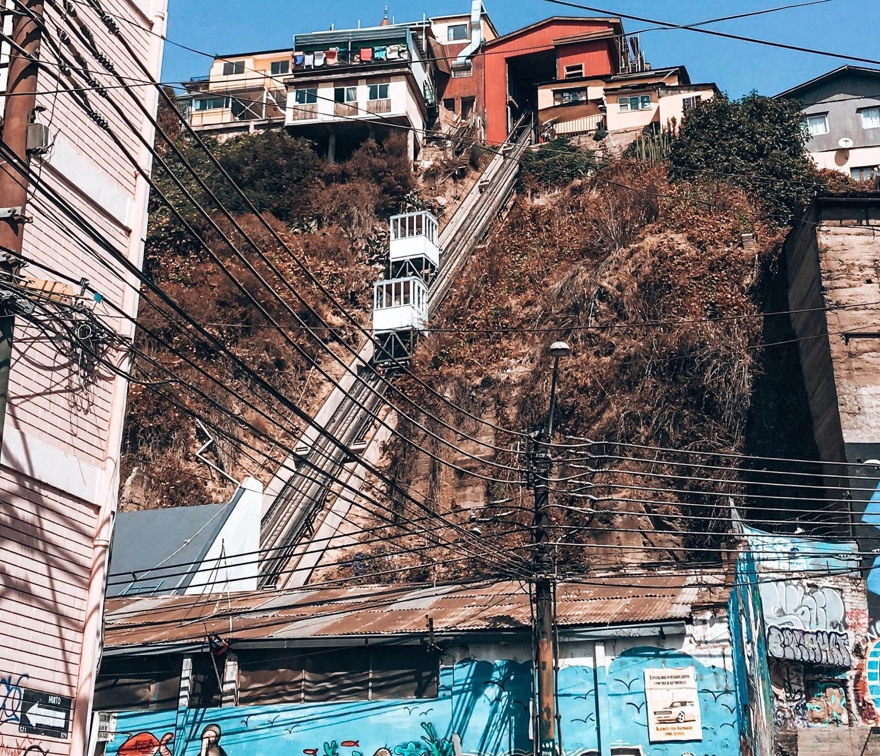 Funicular Valparaiso Chile
