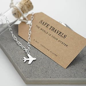 Travel themed jewellery