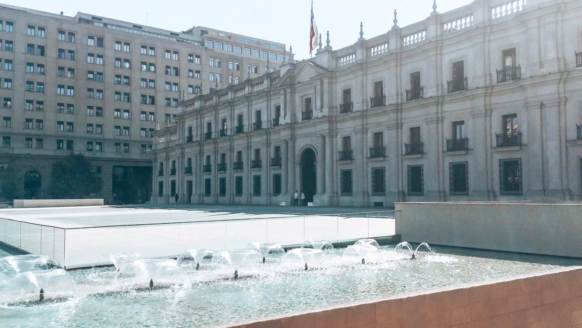 Santiago Chile Palacio Moneda