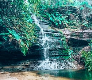 Pools of Siloam, A Waterfall in Blue Mountains, Sydney
