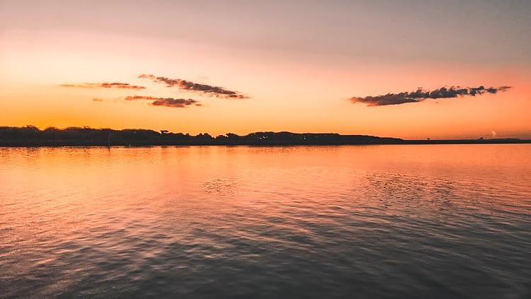Itaipu Dam Sunset Brazil
