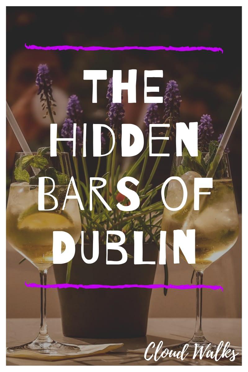 The hidden bars of Dublin