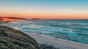 Esperance beach at sunset
