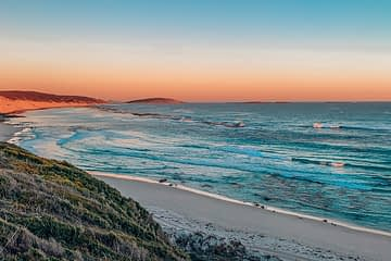 Esperance beach at sunset
