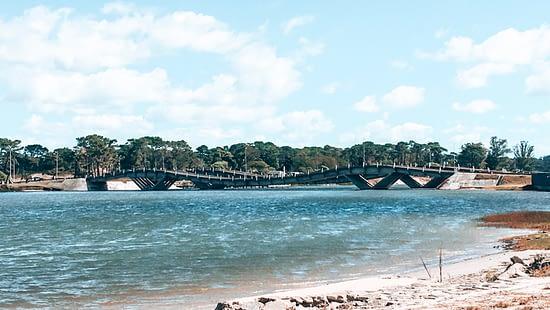 Bridge in La Barra