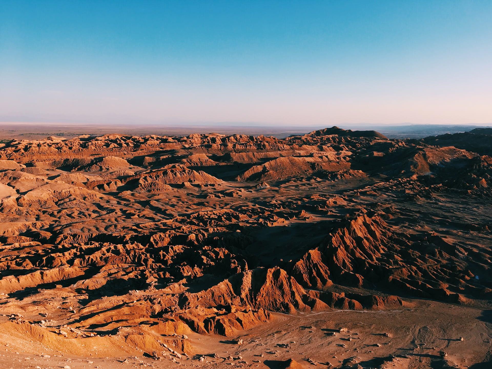 Valle de la Muerte Atacama Chile