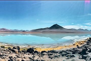 Laguna Blanca Salt Flats Bolivia