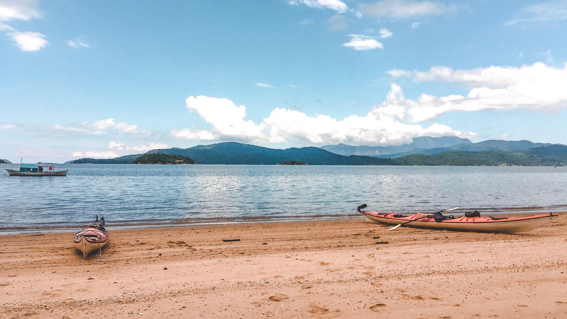 Kayaking Paraty Brazil