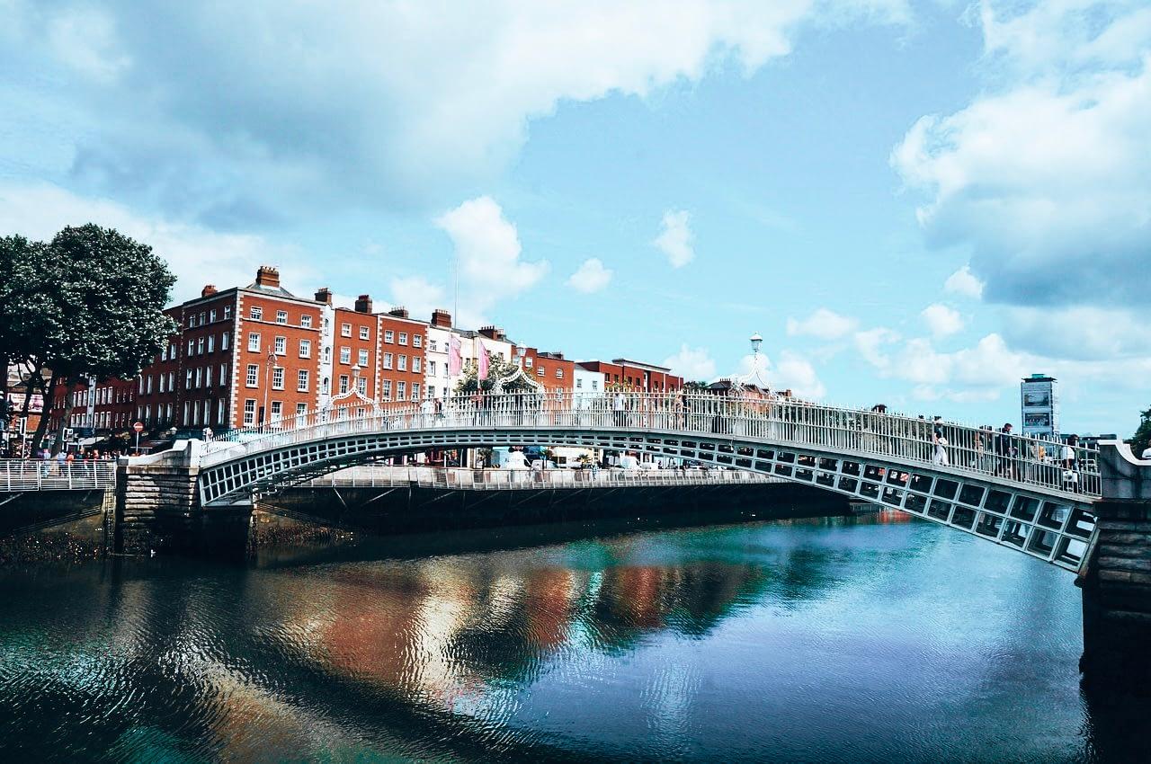 Ha Penny Bridge Dublin