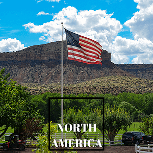 American Flag, North America Guides
