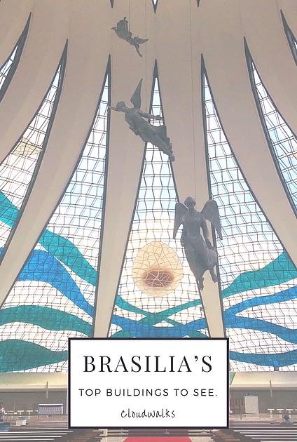 The amazing buildings of Brasilia