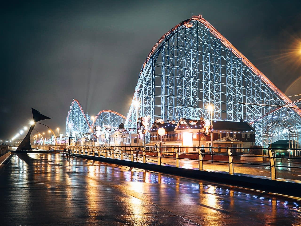 The Big One Rollercoaster Blackpool