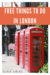 A guide to free things to do in London