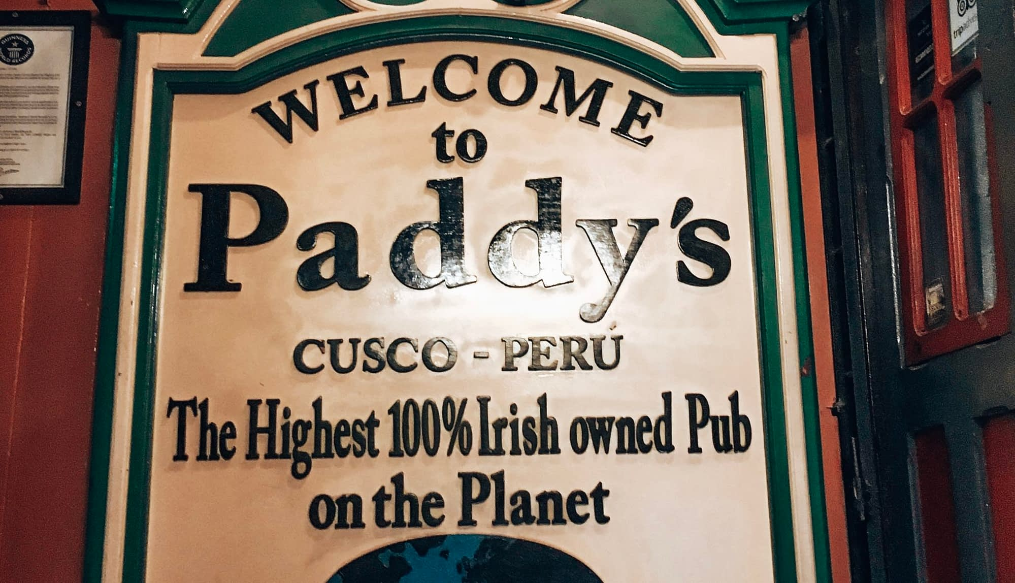 Highest Irish Pub in The World
