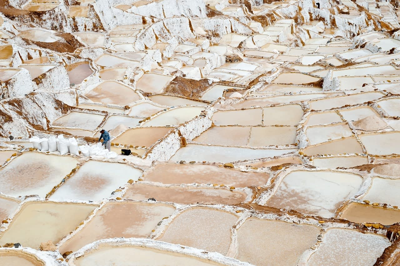 Salt Pans Peru Cusco