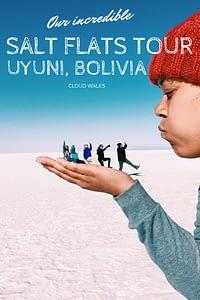Bolivia salt flats