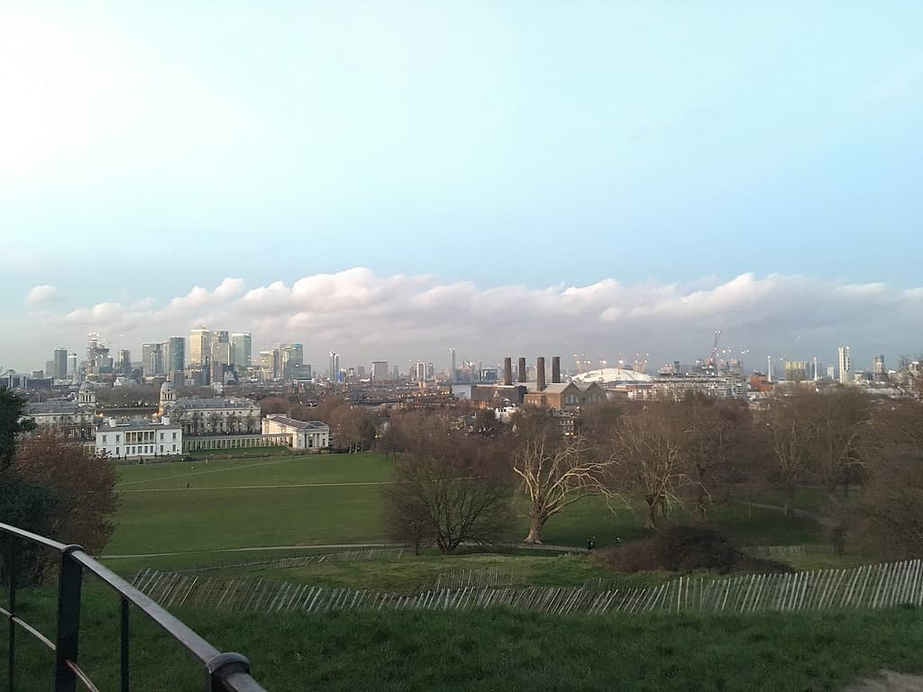 View of Greenwich, London