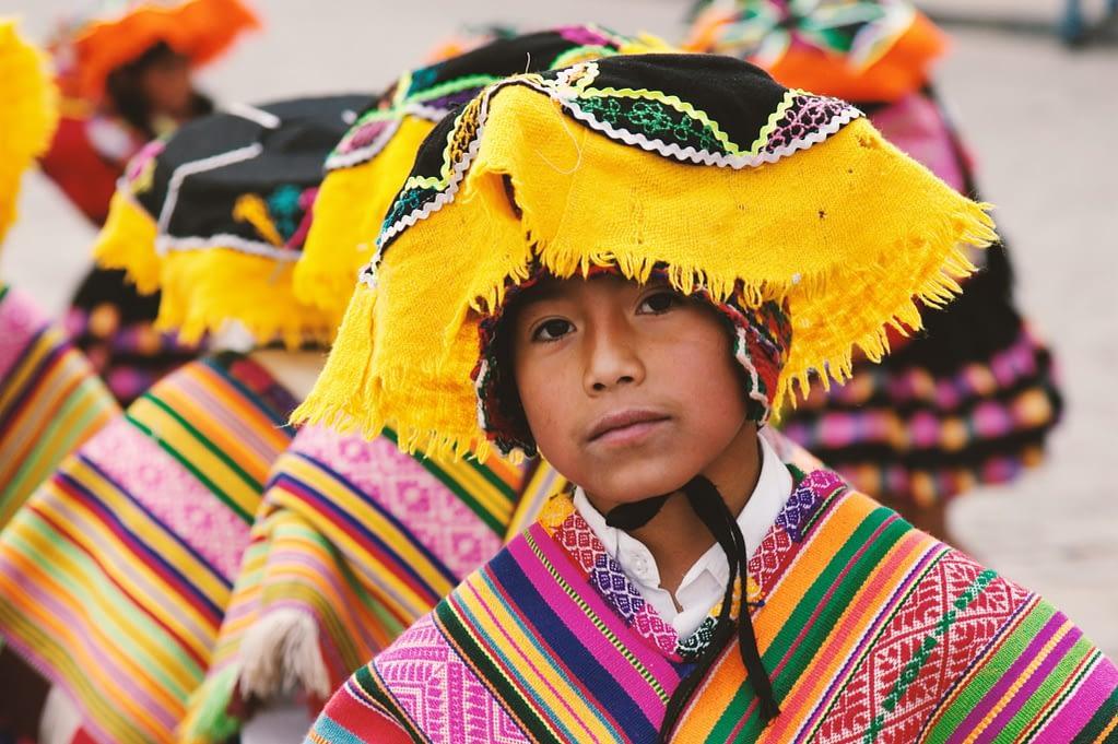 Latin American boy