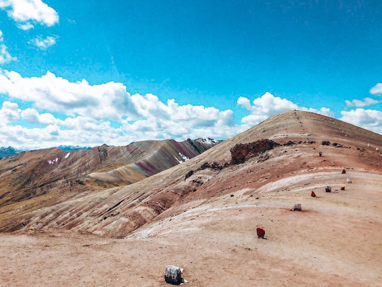 Rainbow Mountain Peru View