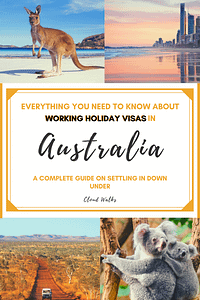 A checklist of things to do when starting a WHV in Australia