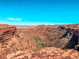 Kings Canyon - Image of canyon from the rim