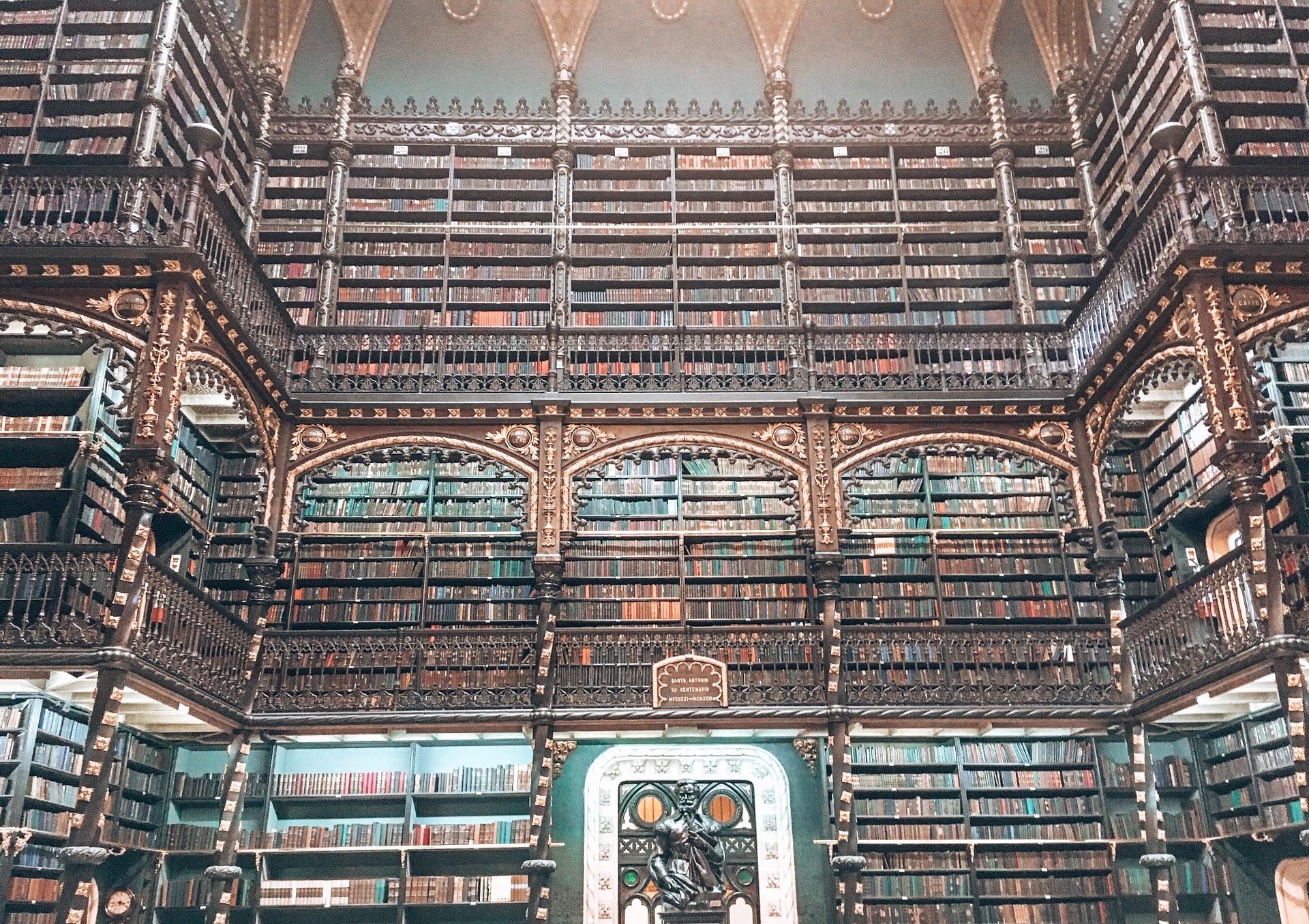 Portuguese Library Rio Brazil