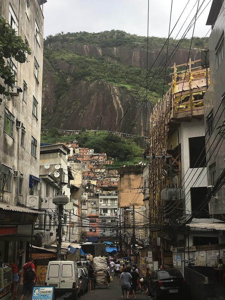 A picture of Rio favelas