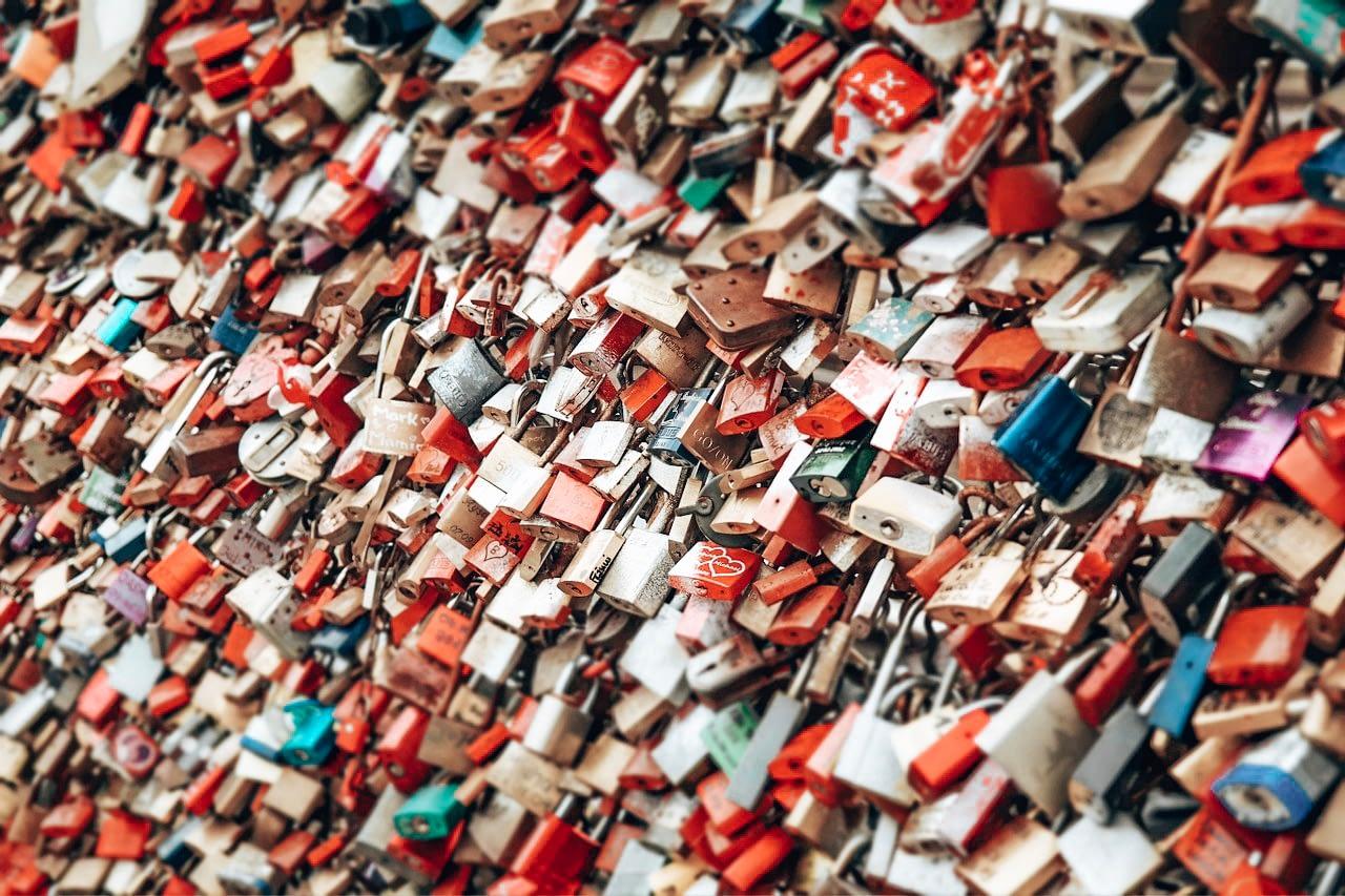 Love Lock bridge Cologne