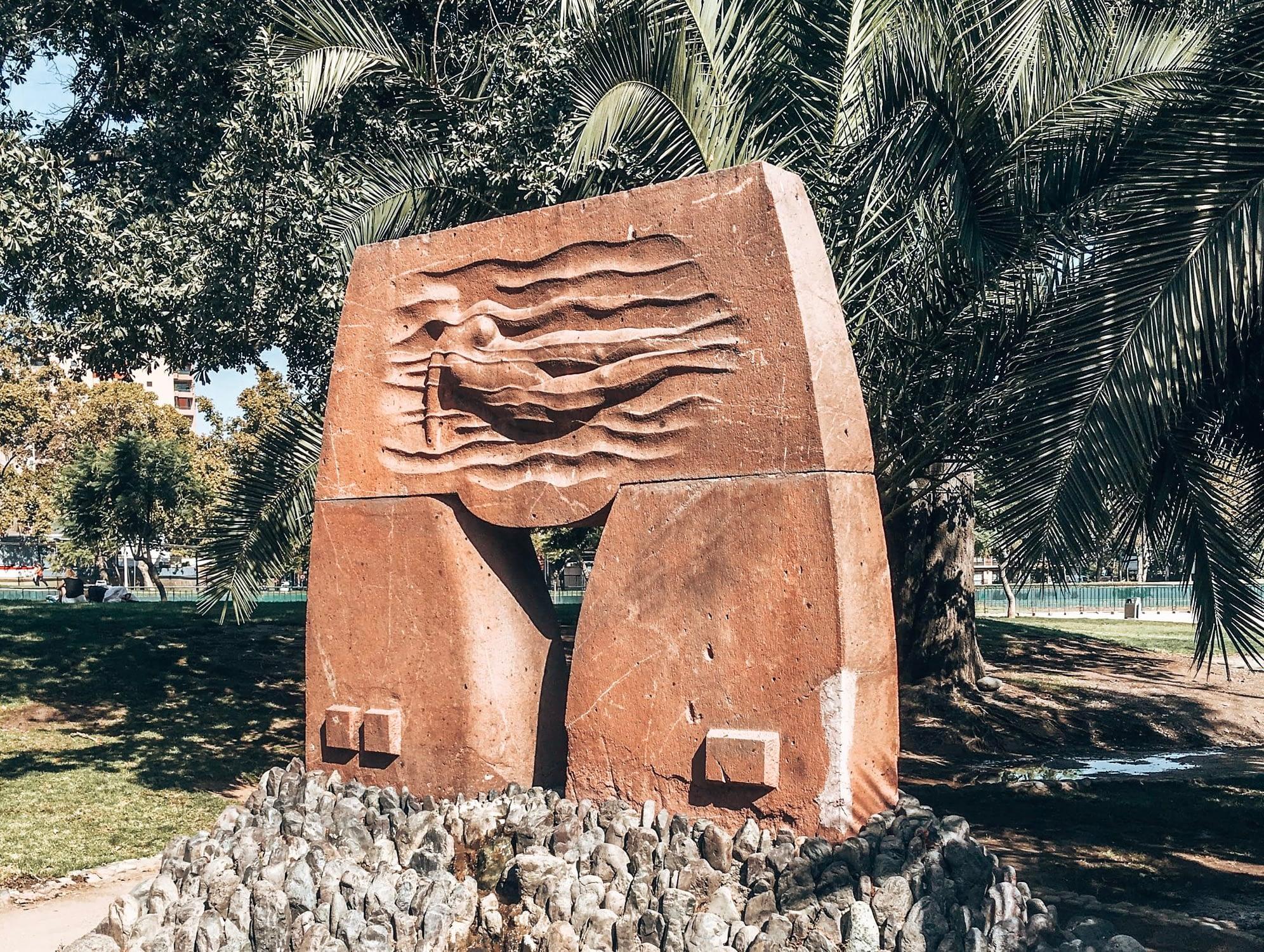 Sculpture Park Santiago Chile