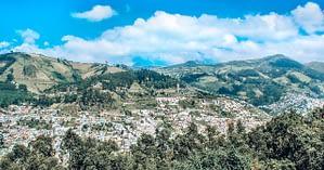 Image of Landscape of Quito - Quito Travel Blog