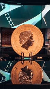 The Perth Mint - image of worlds largest gold coin