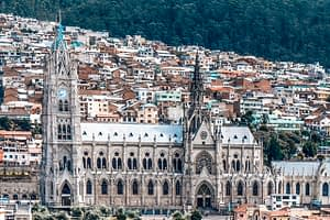 Beautiful Gothic Church - Quito Must-See Attractions