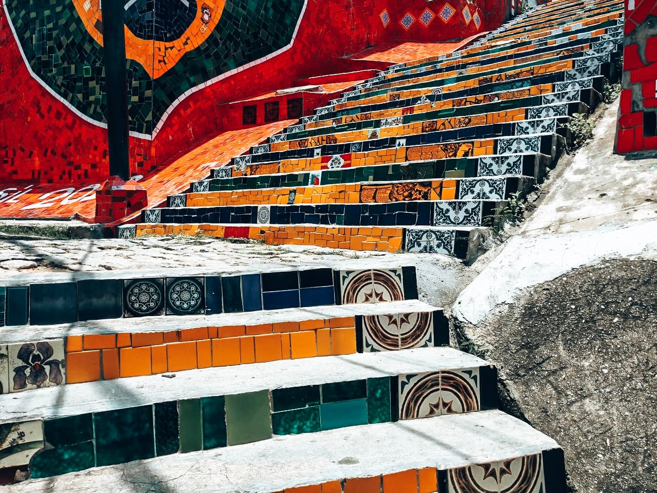 Escadaria Selarón Rio Brazil
