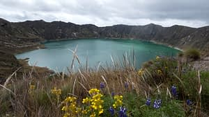 Lake Quilotoa - Landscape image of a lake - Day Trips From Quito