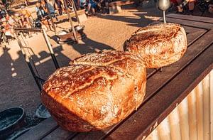Bullara Station, Western Australia - Image of Damper Bread, Australian soda bread