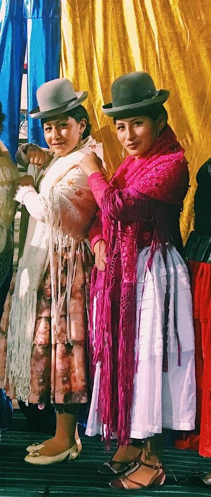 Cholitas in Bolivia