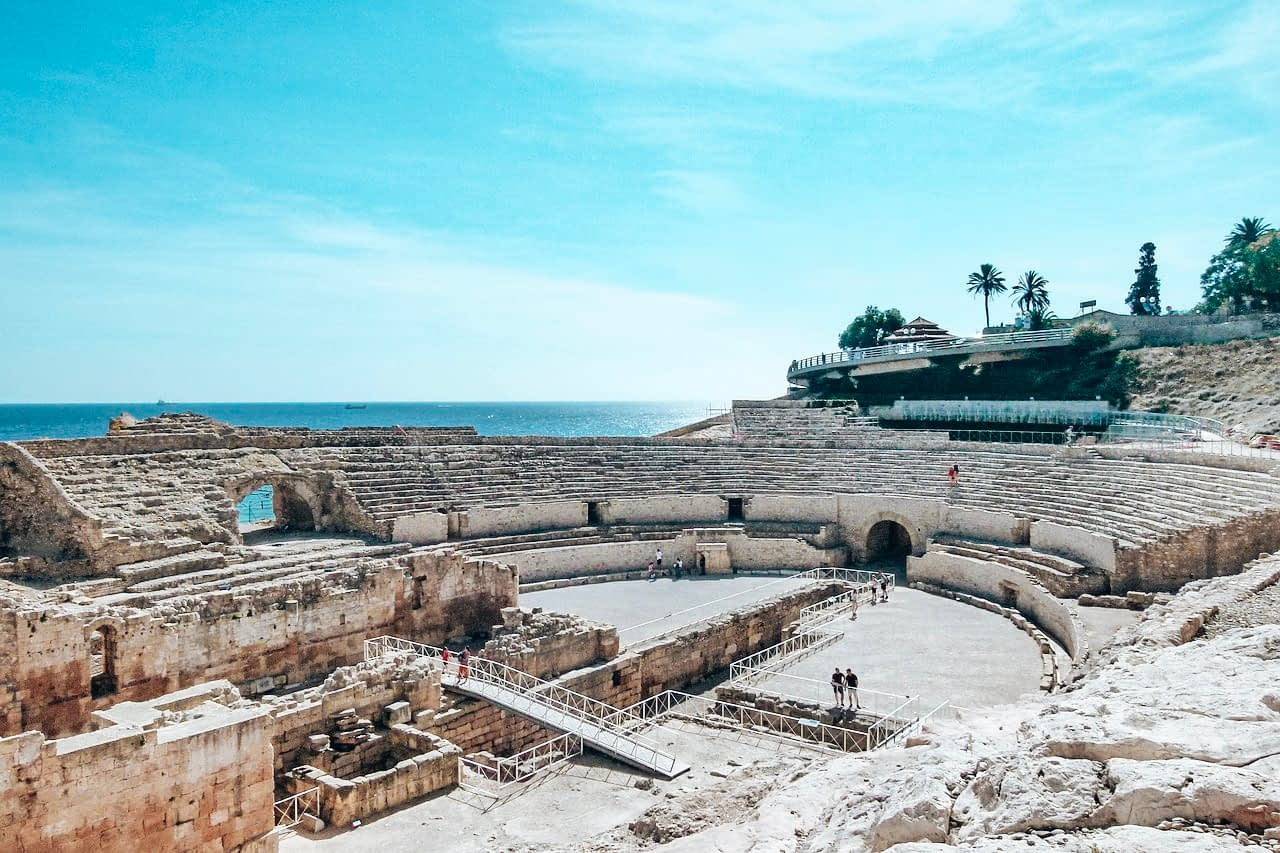 Amazing Day Trips from Barcelona - Image of roman remains in Tarragona Spain