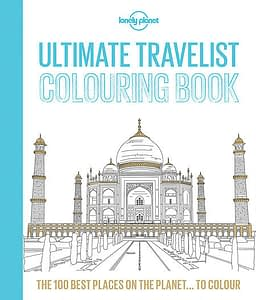 Ultimate travels colouring book