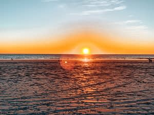 Cable Beach, Broome - Sunset over Cable Beach