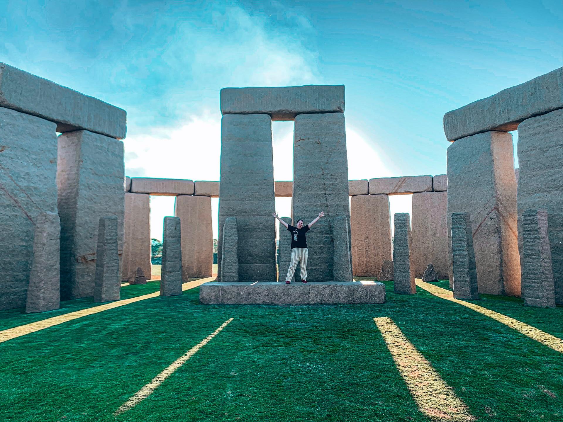 Stone Henge replica in South West Australia