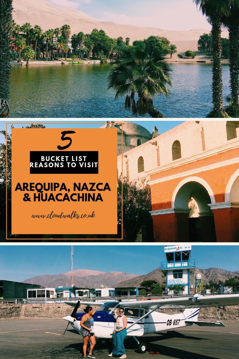 Arequipa, Nazca and Huacachina guide