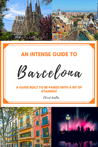 An intense guide to 24 hours in Barcelona