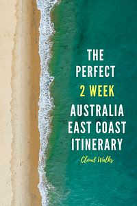 2 week itinerary of East Coast Australia