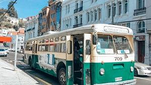 Trolley Bus Valparaiso Chile