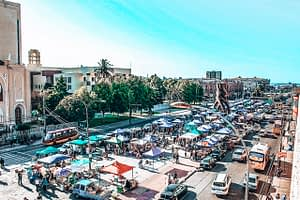 Market Valparaiso Chile